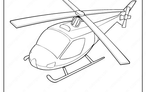 Printable Helicopter Coloring Page Book Pdf In 2020 Coloring Pages Truck Coloring Pages Helicopter