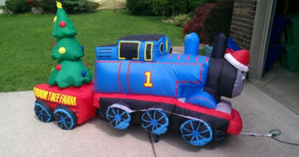 Thomas The Train Lighted Christmas Inflatable 8 Ft