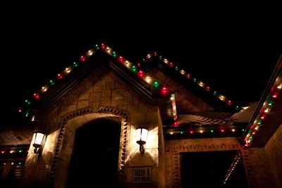House Christmas Lights Ideas With