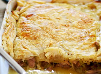 Jamie Oliver S Chicken Pie From 30 Minute Meals Via Hummingbird S Song Edible Pinterest