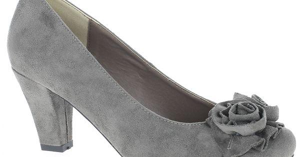 Trachten Pumps Andrea Conti Dirndlschuh Schwarz Dirndl Schuhe Trachtenschuhe Damen Trachtenschuhe