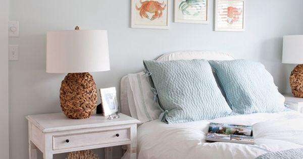 Bedroom Paint Color Benjamin Moore Quot Fanfare Quot Blue Quilt