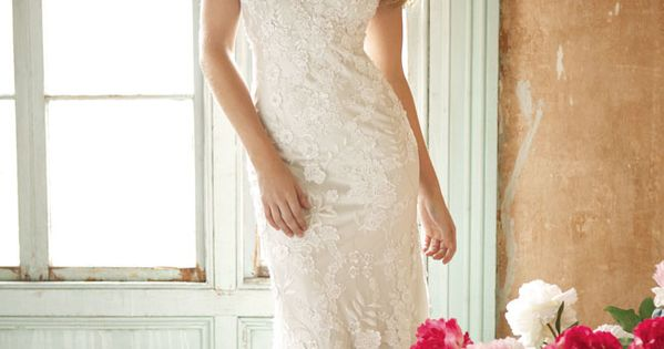 The stunning and romantic Allure Bridals Style 8800 bridal gown is sure