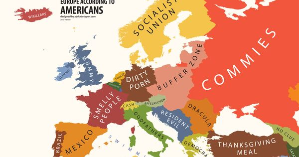 Mapping Stereotypes | Yanko Tsvetkov - HAHAHAHAHA!!!!!!! too funny XD