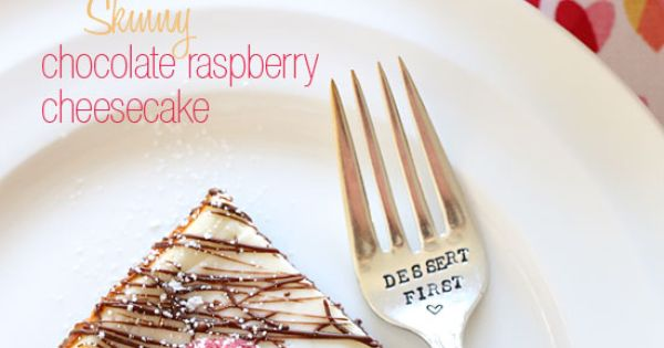 Skinny Chocolate Raspberry Cheesecake (4 pts) cooking spray 1/2 cup (50g) crushed