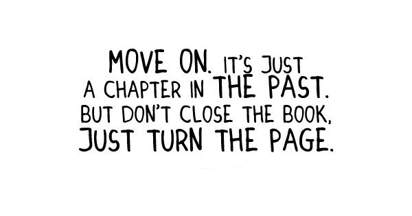 Move on. It's a chapter in the past. But don't close the