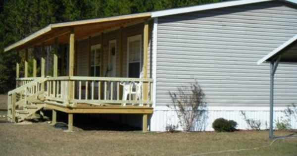 9 beautiful manufactured home porch ideas - Front Porch Designs For Mobile Homes