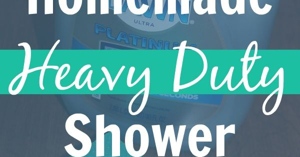 Diy Non Toxic Homemade Heavy Duty Shower Cleaner Recipe