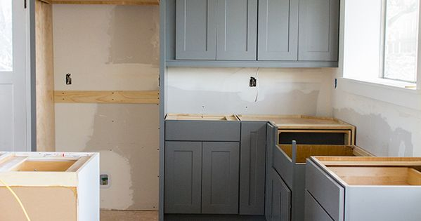 Kraftmaid cabinet installation from lowe 39 s home designs pinterest gray cabinets grey - Kraftmaid bathroom cabinets catalog ...