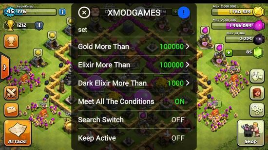 Hướng Dẫn Tải Xmod Game Chơi Clash Of Clan Trên Android Clash Of Clans Game Android