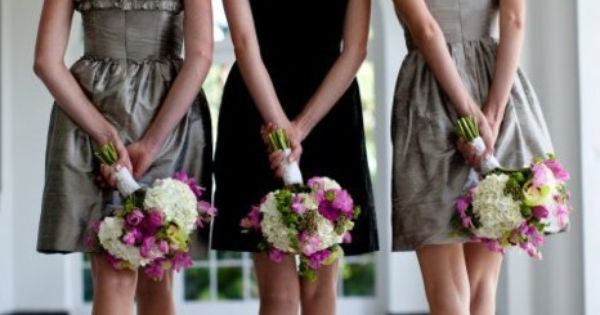 Cute bridesmaids shot.