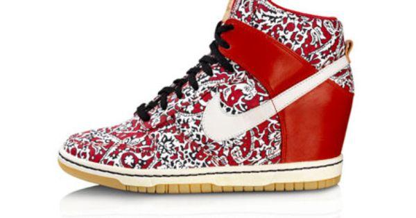 chaussure compensée basket nike