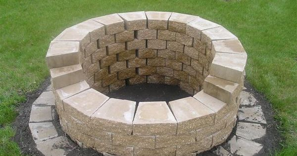 another inexpensive dyi fire pit ideas pinterest