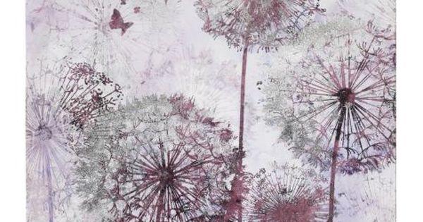 wandbild pusteblume tannenholz leinwand folie. Black Bedroom Furniture Sets. Home Design Ideas