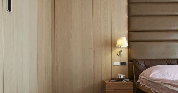 Modern bedroom wardrobe designs - Hsiung House Interior By Ccl Architects Concept