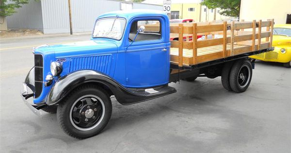 1928 1935 Any Make Flatbed Truck For Sale: 1936 Ford One Ton Flatbed Truck