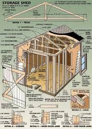 Image Result For Free 10x12 Shed Plans Plan Cabane Hangar De