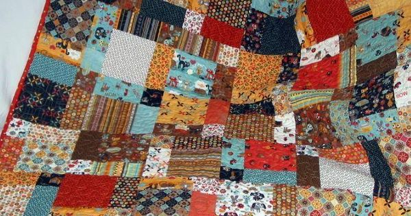 Like this patchwork quilt pattern!