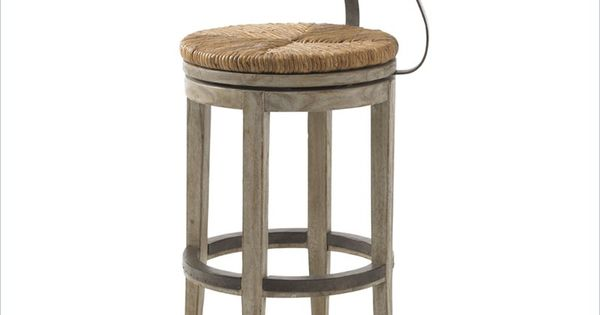 Lexington Twilight Bay Dalton Bar Stool In Driftwood The