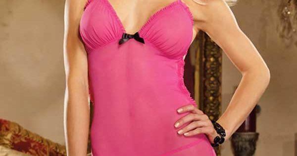 pink garter slip lingerie sexy pas cher. Black Bedroom Furniture Sets. Home Design Ideas