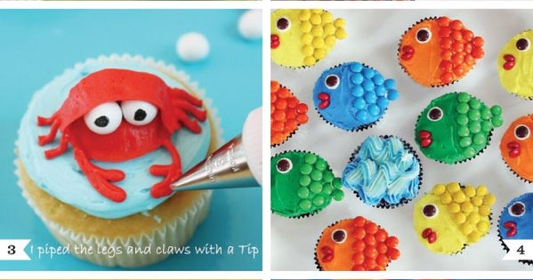 Under The Sea Birthday Party Ideas | ... DIY cupcake decorating ideas