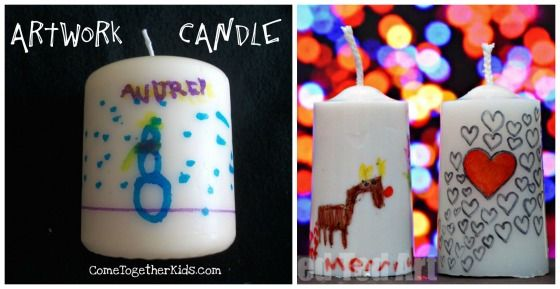 40 Fabulous Gifts For Kids To Make Kids Candles Gifts For Kids Holiday Crafts For Kids