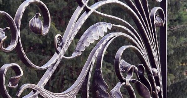 beautiful hand wrought curves