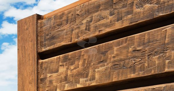 10 Quot Plank Everlog Concrete Log Siding 3 4 Quot Adjustable