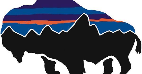 Bison Patagonia Stickers Pinterest Bison