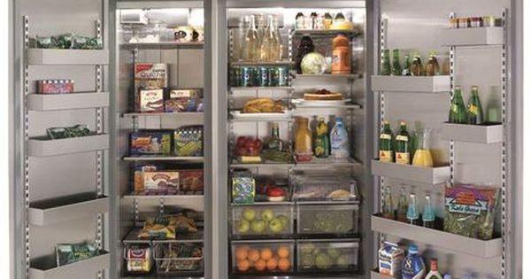 Marvel M60csssp 60 Inch Built In Side By Side Refrigerator With 39 3 Cu Ft Capacity Metal Framed Glass Shelves Storage Bins Twin Compressors And Crescent C Refrigerator Freezer Side By Side Refrigerator