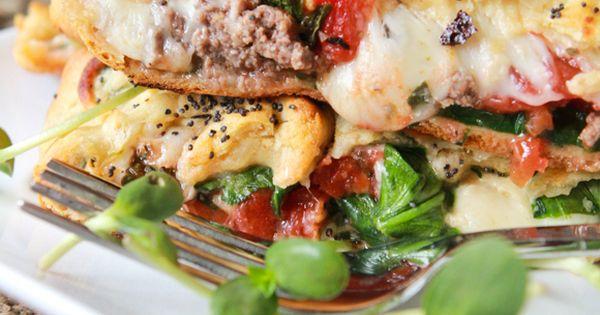 Veggie Crescent Lasagna | Recipe | Crescents, Lasagna and Veggies