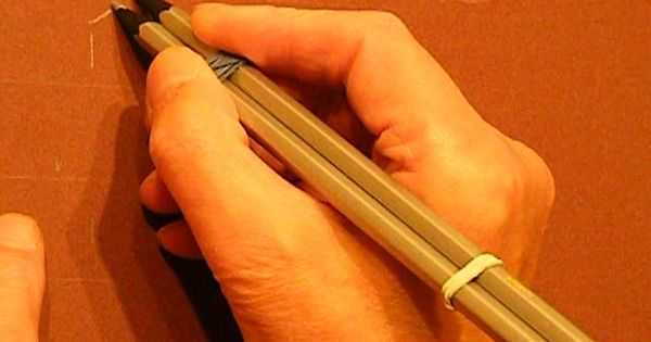 Calligradoodles 0004 Alphabet Pencil And Met