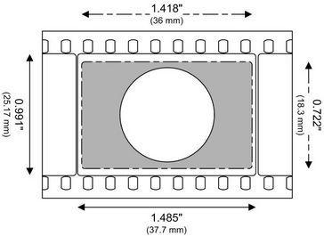 Vistavision 1 5 Aspect Ratio 8 Perf Movie Projector Projector