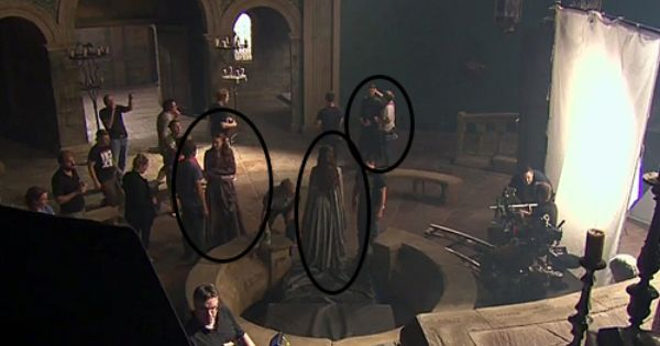 Game Of Thrones Season 4 Spoilers We Got Littlefinger Lysa And Sansa All In The High Hall Of The Eyrie By Behind The Scenes Game Of Thrones Petyr Baelish