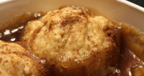 Apple dumplings, Sprinkles and Powder on Pinterest