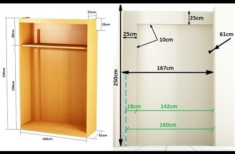 Como hacer un armario empotrado entre paredes madera - Construir armario empotrado ...