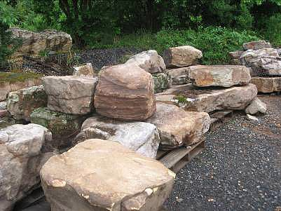 Landscaping with large rocks landscaping boulders as for Landscaping rocks east bay