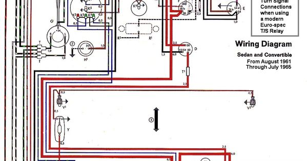 1961 Vw Wiring Diagram Explore On The \u2022rhbodyblendzstore: 1965 Vw Beetle Wiring Diagram At Gmaili.net