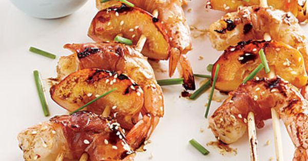 Honey Shrimp Skewers - 27 Coastal Shrimp Recipes - Coastal Living