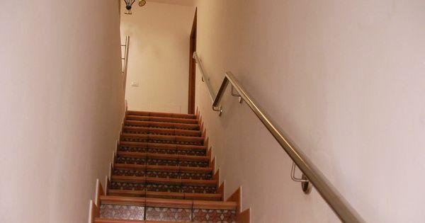 Pasamanos de escalera en acero inoxidable tenerife - Pasamanos de escalera ...