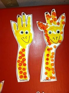 Jungle Animal Art Projects For Toddlers