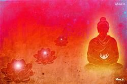 Lord Buddha Art With Red Background Hd Wallpaper Buddha Art Buddhism Art Lord Buddha Wallpapers