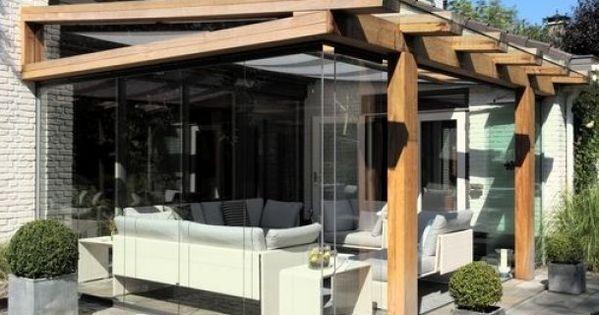 Je terras verbindt woonplezier met tuinplezier en is een comfortabel onderdeel van de tuin het for Overdekt terras model