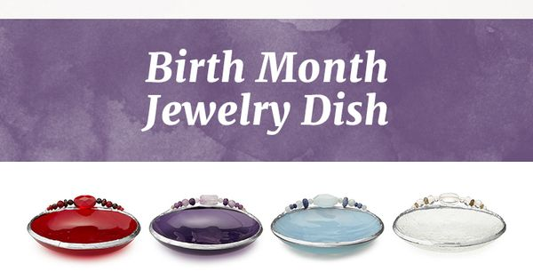 Birth Month Mini Dish Traditional 12 And Birth Month
