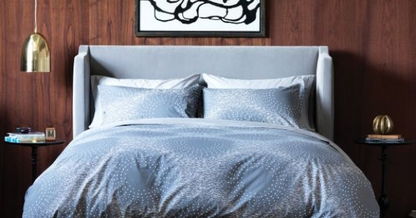 Masculine 60s chic à la MadMen - Barrow French Grey Duvet Set