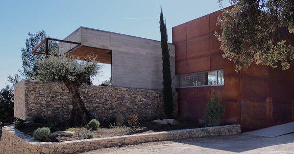 MAISON ARCHITECTURE ARCHITECTE COMPTEMPORAIN MODERNE NIMES SUD ...