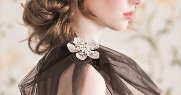 Sweet! - Style | CHECK OUT MORE GREAT WEDDING HAIRSTYLES AND WEDDING
