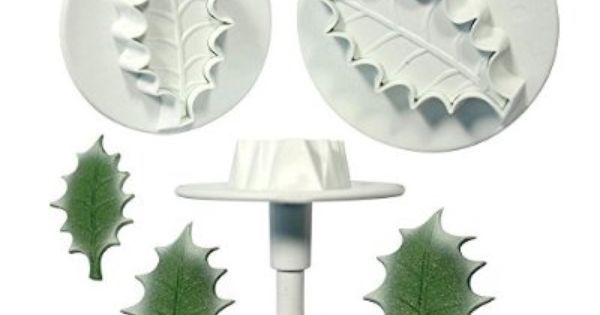 PME QUALITY VEINED ROSE LEAF PLUNGER CUTTER IN 3 SIZES