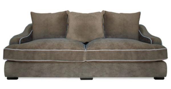 Sycamore down sofa urban home most comfortable for Comfortable family sofa