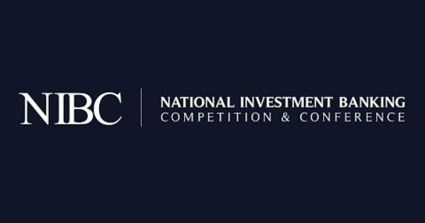 Nibc Be Recognized Nationwide National Investment Banking Competition Competition Investment Banking Investing